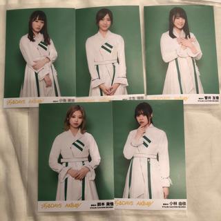 ケヤキザカフォーティーシックス(欅坂46(けやき坂46))の『ジワるDAYS』欅坂46生写真5枚セット(女性アイドル)