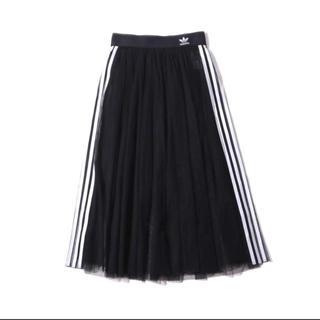 アディダス(adidas)のアディダス チュールスカート  Mサイズ(ロングスカート)