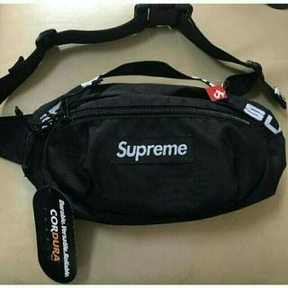 Supreme - 18ss Supreme Waist Bag black