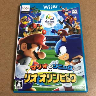 Wii U - マリオ&ソニック AT リオ オリンピック