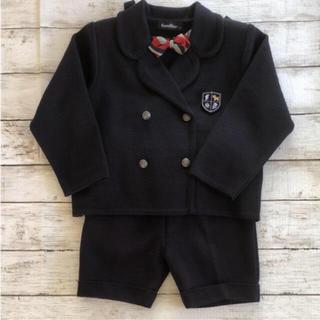 11c3ca2f34012 familiar - ファミリア 夏用シャツ、ズボンのセット 靴下付きの通販 by ...