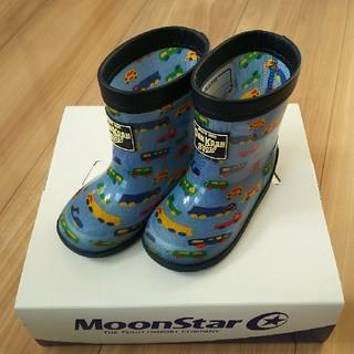 ムーンスター(MOONSTAR )のムーンスター ベビーシューズ レインシューズ 長靴 13㎝(長靴/レインシューズ)
