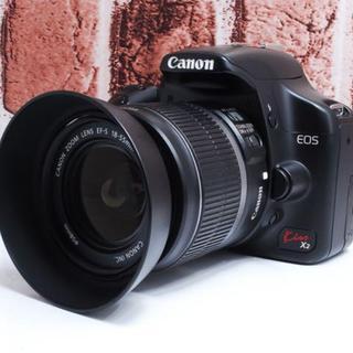 Canon - ★美品★Canon Kiss X2 レンズセット★