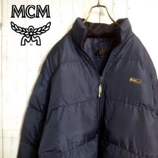 エムシーエム(MCM)のMCM 中綿ジャケット ネイビー  ビックシルエット(ダウンジャケット)