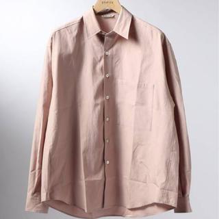 コモリ(COMOLI)のAURALEE 19ss ビッグシャツ(シャツ)
