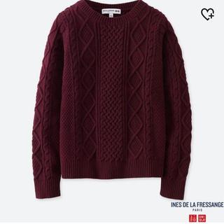 UNIQLO - ケーブルクルーネックセーター 新品未使用 タグ付き