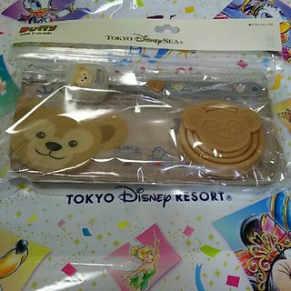 ディズニー(Disney)のダッフィー 歯ブラシセット(歯ブラシ/歯みがき用品)