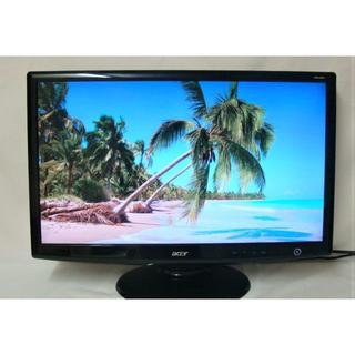 エイサー(Acer)の24インチワイド液晶モニター/エイサーH243H Abmid(デスクトップ型PC)