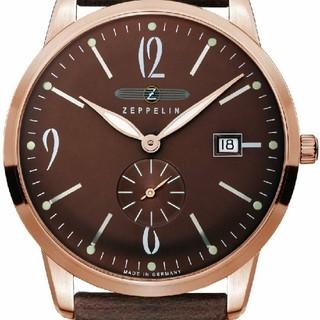 ツェッペリン(ZEPPELIN)のツェッペリンZeppelin 7336-5 フラットライン メンズ 腕時計(腕時計(アナログ))
