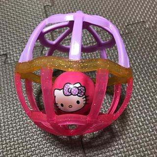 ハローキティ(ハローキティ)のボール ☆ おもちゃ ☆ ベビー ☆ハロー キティー(知育玩具)