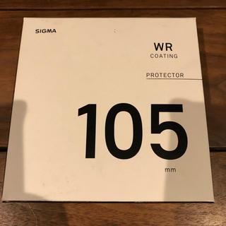 シグマ(SIGMA)のシグマ SIGMA WR-PROTECTOR 105mm レンズフィルター(レンズ(単焦点))