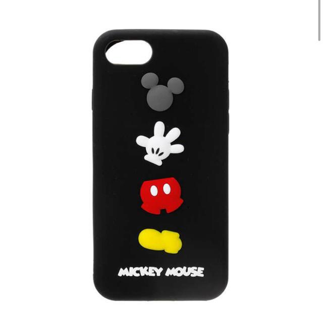 2fedacb039 Disney(ディズニー)のミッキーマウス シリコンケース iPhone7 iPhone8 スマホ/家電/カメラ