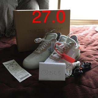 オフホワイト(OFF-WHITE)のTHE 10 AIR FORCE 1 adidas イージー 500 2足セット(スニーカー)