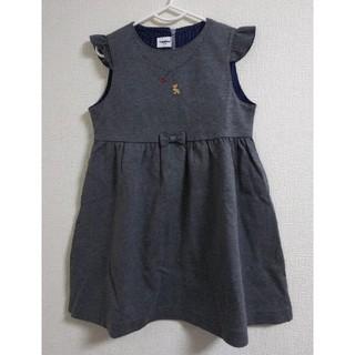 familiar - familiar ジャンパースカート110