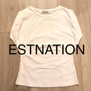 エストネーション(ESTNATION)のエストネーション トップス tシャツ(Tシャツ(半袖/袖なし))