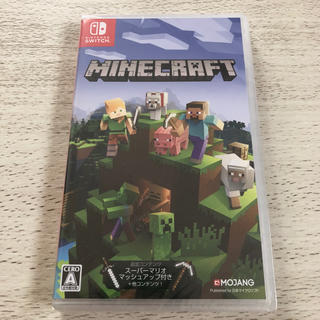 Nintendo Switch - 新品 Nintendo Switch Minecraft マインクラフト