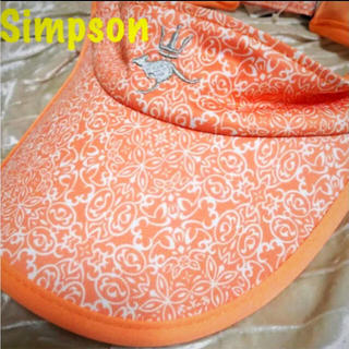シンプソン(SIMPSON)のSimpson シンプソン 新品未使用品 サンバイザー(その他)