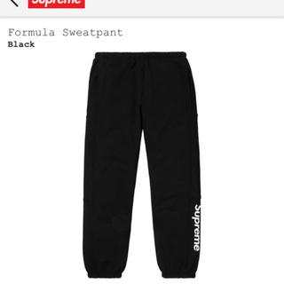 Supreme - Supreme formula sweatpant S 黒 スウェット パンツ