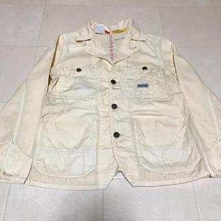 デニムダンガリー(DENIM DUNGAREE)のデニム&ダンガリー ジャケット ホワイト 白 145cm(ジャケット/上着)