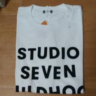 GU StudioSeven ヘビーウェイトビッグT ホワイト(M)(Tシャツ/カットソー(半袖/袖なし))