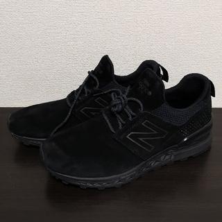 New Balance - new balance ニューバランス ブラック 27.5cm ほぼ未使用品