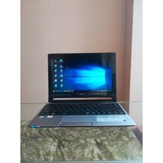 エイサー(Acer)の中古品 acer Aspire One 533 windows 10 認証済み (ノートPC)