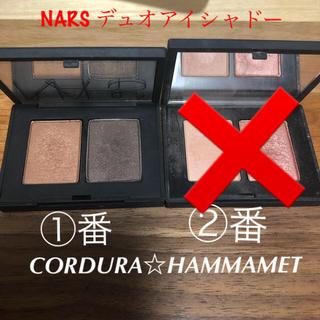 ナーズ(NARS)のナーズ デュオアイシャドー 3918 3920 CORDURA HAMMAMET(アイシャドウ)