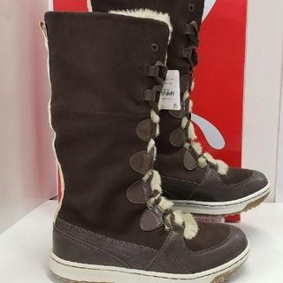プーマ(PUMA)のコニジカ様 専用  プーマ スエード編み上げボアブーツ(ブーツ)