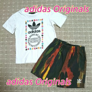 adidas - adidas Originals★110cm★コラボセットアップ★花柄*フラワー