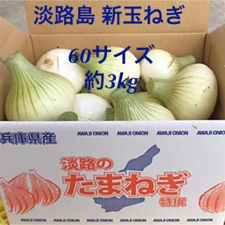 いいね(#^.^#)淡路島 新玉ねぎ スーパーアップ 3kg (60サイズ)