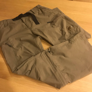 マムート(Mammut)のMAMMUT Tuff Stretch 3/4 2in1 Pants Women(登山用品)