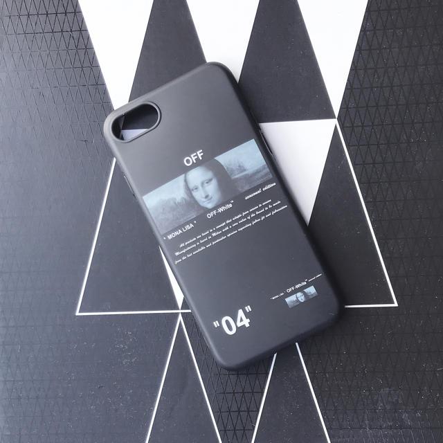OFF-WHITE - 最安値 モナリザ iPhoneケースの通販 by ポケモンshop|オフホワイトならラクマ