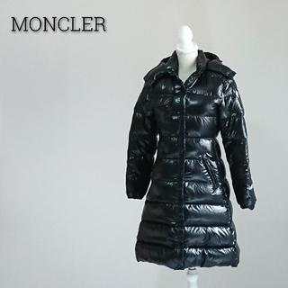 モンクレール(MONCLER)のMONCLER MEINA モンクレール ダウンコート ブラック レディース(ダウンコート)