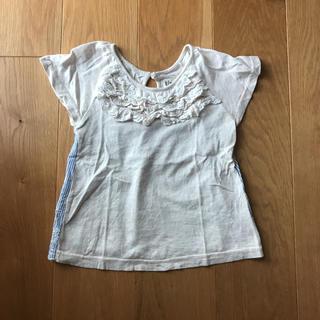 ターカーミニ(t/mini)のt/mini フリルTシャツ 丸高衣料(Tシャツ/カットソー)