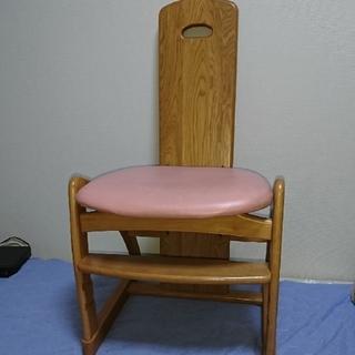 カリモクカグ(カリモク家具)の中古美品★カリモク学習椅子★送料無料(デスクチェア)