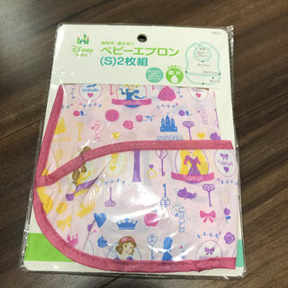 ディズニー(Disney)の新品♡ディズニー お食事エプロン 2枚組 プリンセス(お食事エプロン)