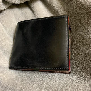 ガンゾ(GANZO)のGANZO シンブライドル 二つ折り財布(折り財布)