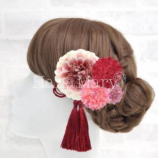 【T様専用】和装髪飾り ブリザードフラワー
