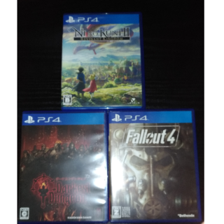 PS4ソフト3本セット