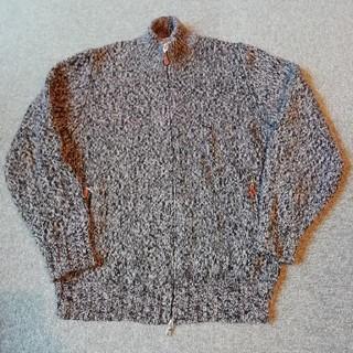 ブルネロクチネリ(BRUNELLO CUCINELLI)の美品 ブルネロクチネリ ダブル・ジップアップ・セーター カシミア100%(ニット/セーター)