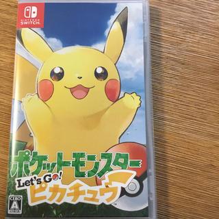 Nintendo Switch - スイッチ ポケットモンスター  レッツゴー ピカチュウ
