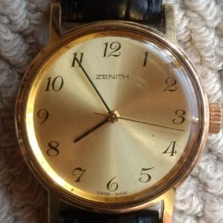 ゼニス(ZENITH)の【OH済】ゼニス/cal.2572/手巻き/1970年代/スイス高級ブランド(腕時計(アナログ))