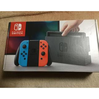Nintendo Switch - 保証あり任天堂スイッチ ニンテンドーSwitch ネオンレッド/ネオンブルー本体