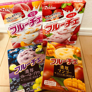 ハウスショクヒン(ハウス食品)のフルーチェ 4個(菓子/デザート)