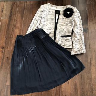 アンタイトル(UNTITLED)の入学式 ママ スーツ 結婚式 ジャケット スカート M 9号(スーツ)