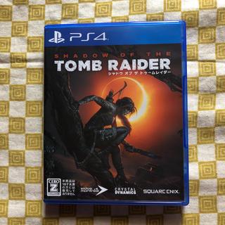 PlayStation4 - PS4 シャドウ オブ ザ トゥームレイダー