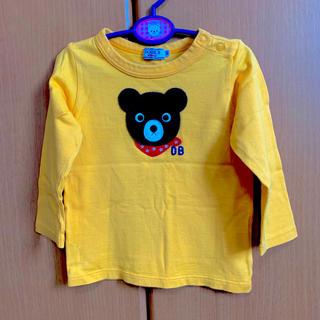 DOUBLE.B - ミキハウス ダブルB 長袖 90 80 Tシャツ ロンT