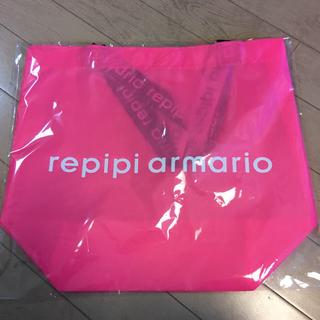 レピピアルマリオ(repipi armario)のrepipi armario ロゴテープナイロントート(トートバッグ)
