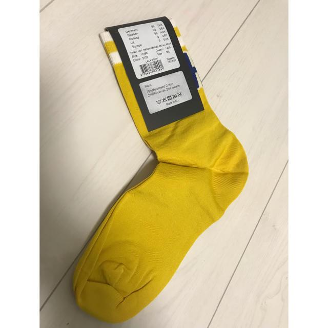 BAUM UND PFERDGARTEN(バウムウンドヘルガーデン)の新品 バウム ウンド ヘルガーデン ソックス イエロー 黄  レディースのレッグウェア(ソックス)の商品写真