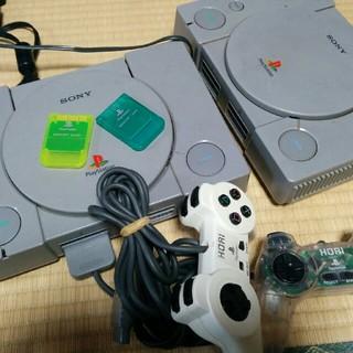 プレイステーション(PlayStation)の初代 SONY プレステ SCPH-5500 本体コントローラー メモリーカード(家庭用ゲーム本体)